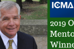 League Board Member Ted Staton Honored as 2019 ICMA Outstanding Mentor Award Winner