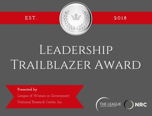 LEAGUE NOW ACCEPTING NOMINATIONS FOR 2019 LEADERSHIP TRAILBLAZER AWARD