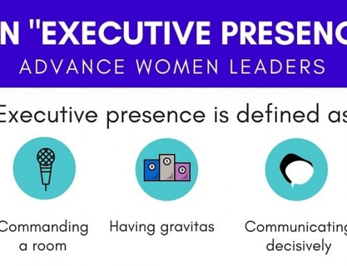 """Today's Infographic: Banning The Phrase """"lacks executive presence"""""""