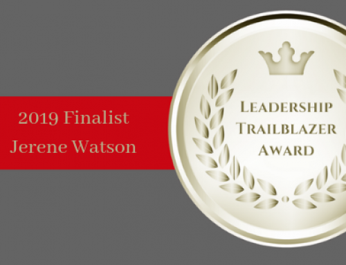 MEET 2019 LEADERSHIP TRAILBLAZER TOP 10 FINALIST JERENE WATSON