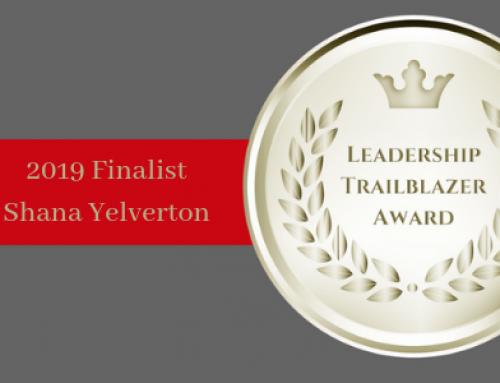 MEET 2019 LEADERSHIP TRAILBLAZER TOP 10 FINALIST SHANA YELVERTON